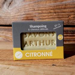 Savon Solide Bio Citronné – Cheveux délicats