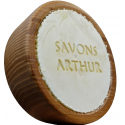 Savon ARTHUR à barbe Bio et son bol en bois d'acacia