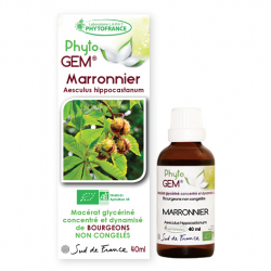 Marronnier BIO Phyto'Gem